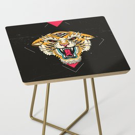 Tiger 3 Eyes Side Table