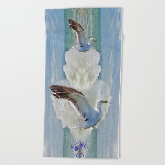 Balanced Arrival Beach Towel