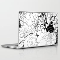 korean Laptop & iPad Skins featuring Korean Spring by Madame Mim