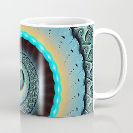 The Mother of All, Abstract Fractal Art Coffee Mug