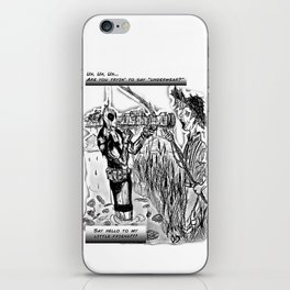 Dead-Pool goin' back in time & reality iPhone Skin