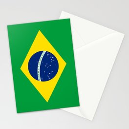 Flag of Brazil - Hi Quality Authentic version Stationery Cards