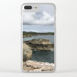 Lighthouse View in Vieques Clear iPhone Case