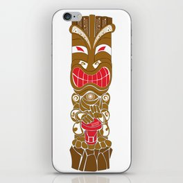 TIKI iPhone Skin