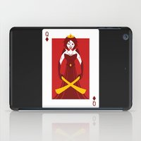 berserk iPad Cases featuring Queen of Diamonds - Berseker queen by Thirdway Industries Shop