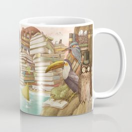 The Library Islands Coffee Mug