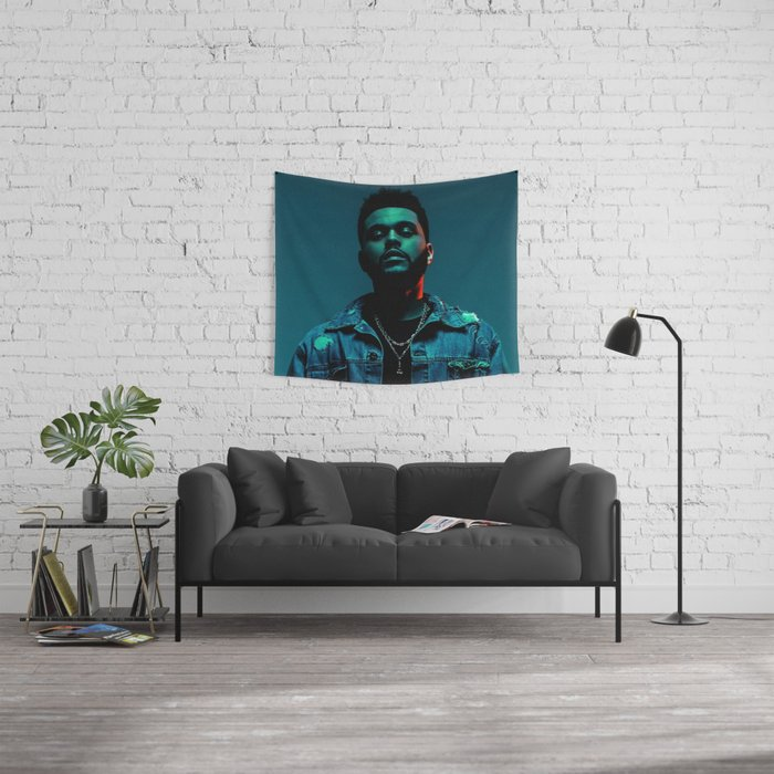 StarBoyPortrait Wall Tapestry