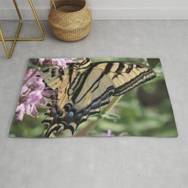 Western Tiger Swallowtail on Lemon Blossoms Rug