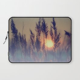 Winter sun in the reed Laptop Sleeve