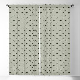 Rex Pattern Blackout Curtain