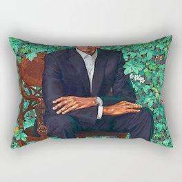 Obama Portrait Rectangular Pillow
