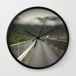 MacIntosh Dam Wall Wall Clock