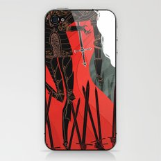 Knight of Swords iPhone & iPod Skin