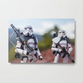 Sandtrooper Patrol #2 Metal Print