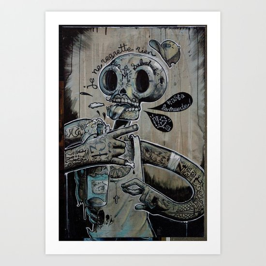 M.S 13 Art Print