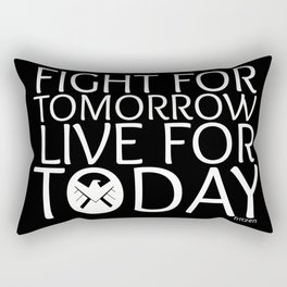 Fight For Tomorrow, Live For Today - AoS Rectangular Pillow