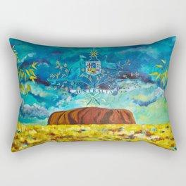 The Great Southland Rectangular Pillow