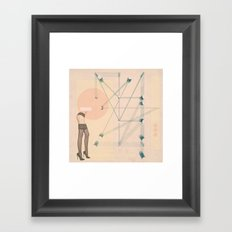 Thigh High Framed Art Print