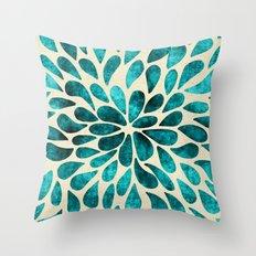 Petal Burst #20 Throw Pillow