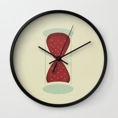 strawberry fields forever Wall Clock