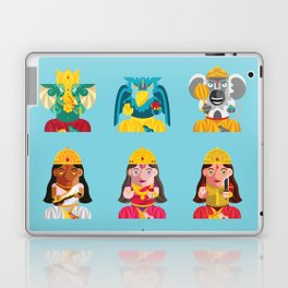 Indian Box Dolls Laptop & iPad Skin