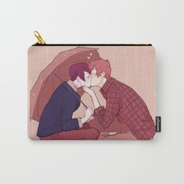 kiss under the umbrella Carry-All Pouch