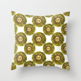 Re sole Throw Pillow