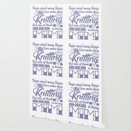 Knitting Mimi Wallpaper