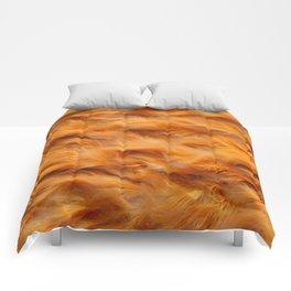 Iron water stream Comforters