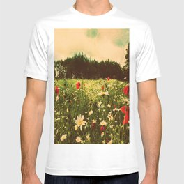 Poppies In Pilling  T-shirt