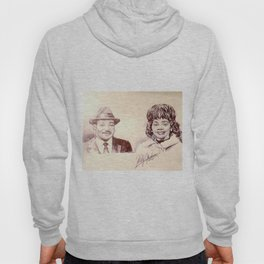 Martin Luther King & Coretta Scott King Hoody