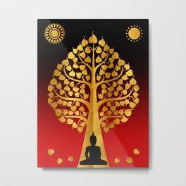 Bodhi Tree0402 Metal Print