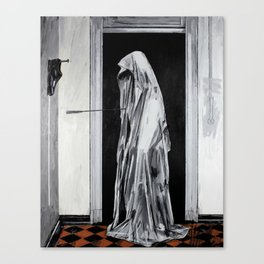 Cursed to live forever. Canvas Print