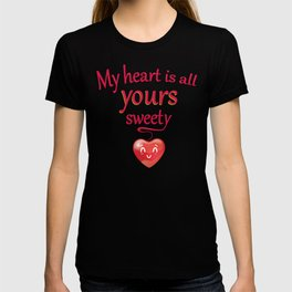 sweet love message T-shirt
