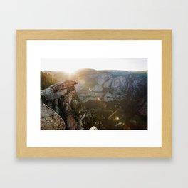 natural flares  Framed Art Print