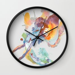 Found Wall Clock
