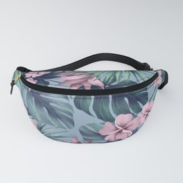 Tropical flowers 9 Fanny Pack