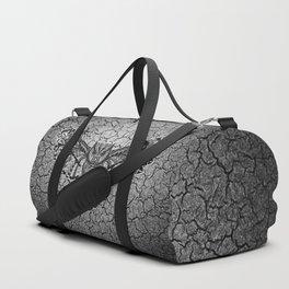 Black Owl Pattern Duffle Bag