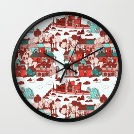 Cashel of The Kings Strong Color Option Wall Clock