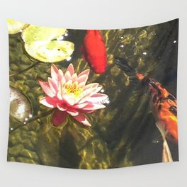 tranquility pond Wall Tapestry