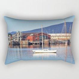 Fairhaven Harbor Rectangular Pillow