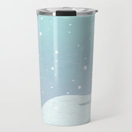 Hamburg winter Travel Mug