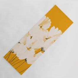 Flowers In Tangerine Yoga Mat