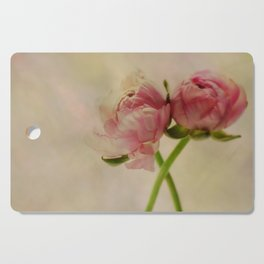 Falling in Love with rose flowers Cutting Board