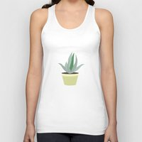 succulent Tank Tops featuring Succulent V1 by 83 Oranges™