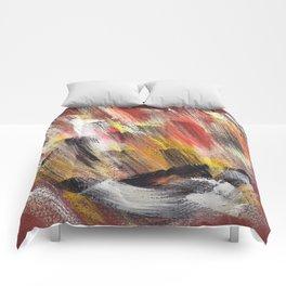 Cosmic brown Comforters