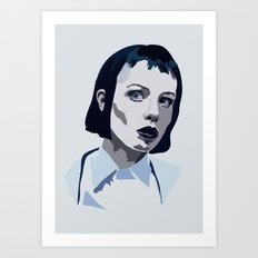 Alice Glass Art Print