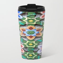Haedong Yonggungsa Temple Door Carving III Travel Mug
