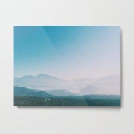 Mounatin  View at Taiwan  Metal Print