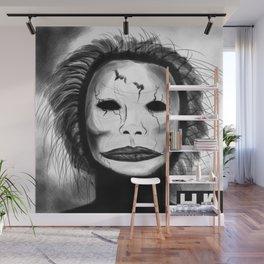 Broken Face Wall Mural